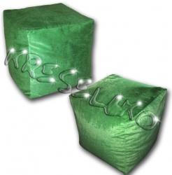 Пуфик Куб флок